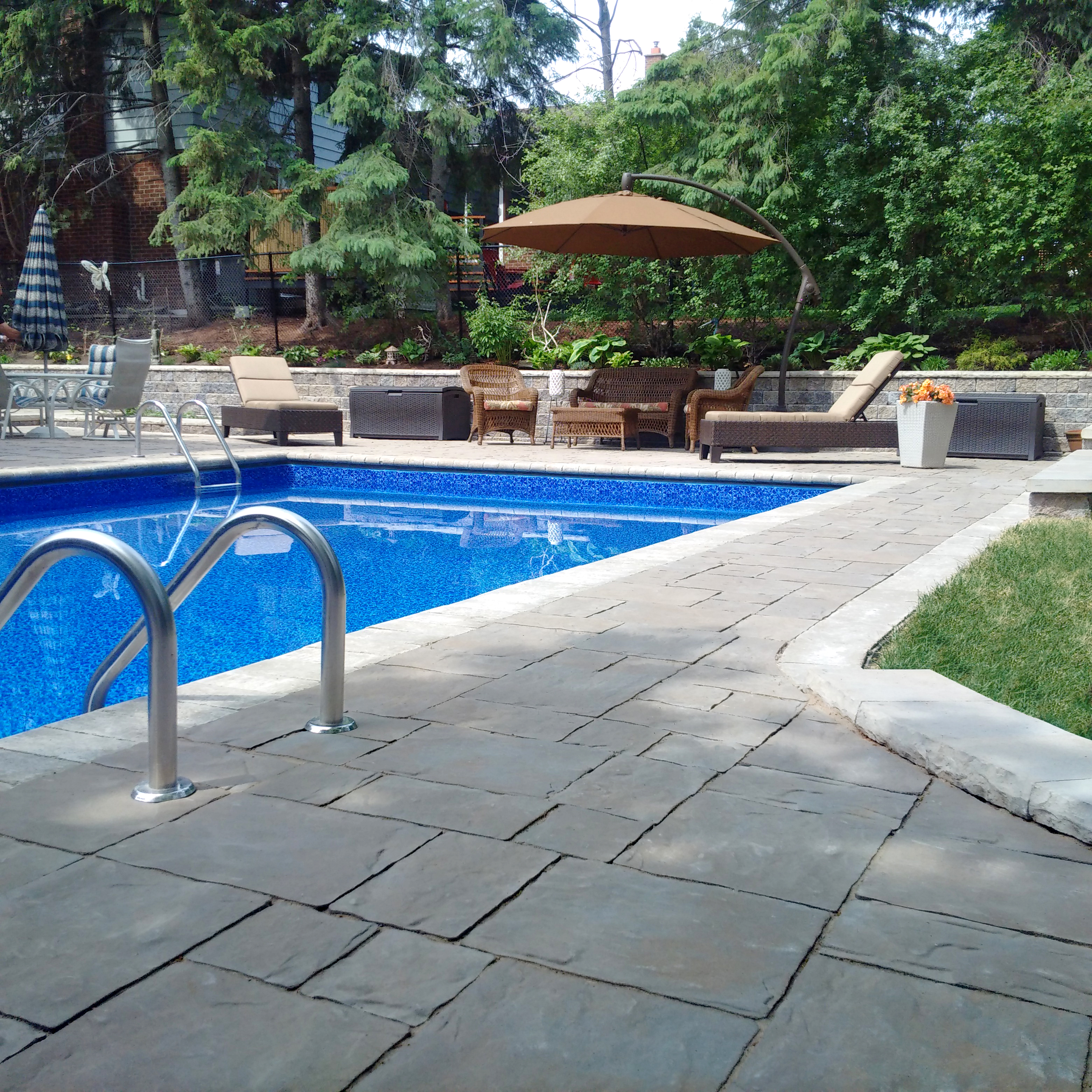 Unilock Pool Deck, Pool Patio NJ, NY, PA, CT
